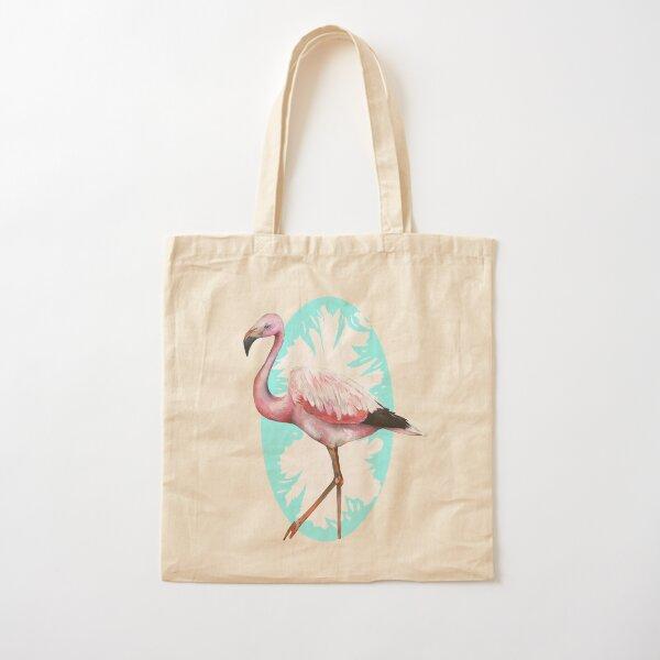 Andean Flamingo Cotton Tote Bag