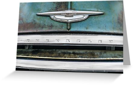 Vintage Chevrolet front end by Jim  Hughes