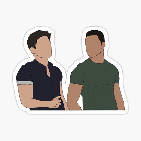 TK Strand and Carlos Reyes Sticker