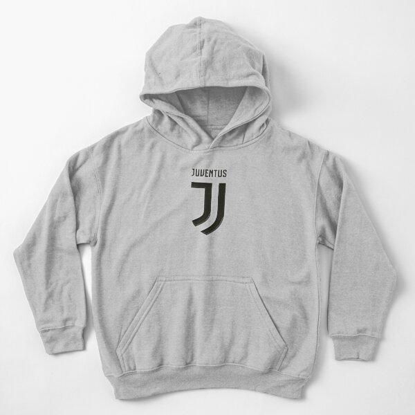 Juventus Logo 3D Sweat à capuche épais enfant