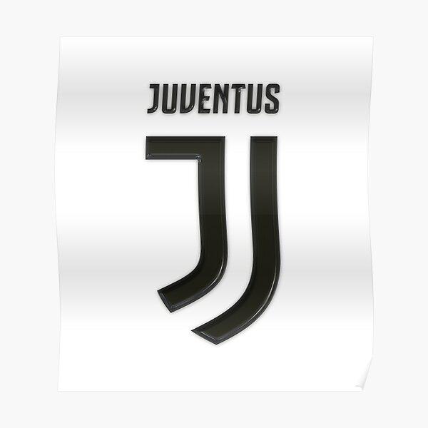Juventus Logo 3D Poster