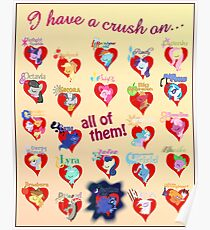I have a crush on... all of them! 2.1 - Poster Poster