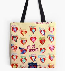I have a crush on... all of them! 2.1 - Poster Tote Bag