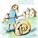 Snail,Snail by Nicholas  Beckett