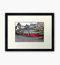 Serenity at Seahouses,Northumberland Framed Print