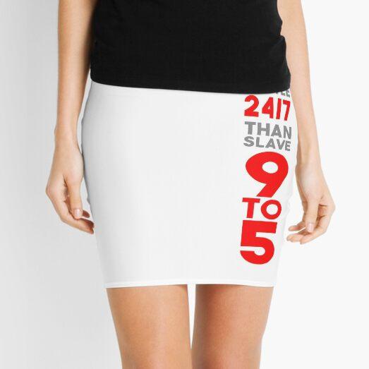Hustle 24/7 - Red Mini Skirt