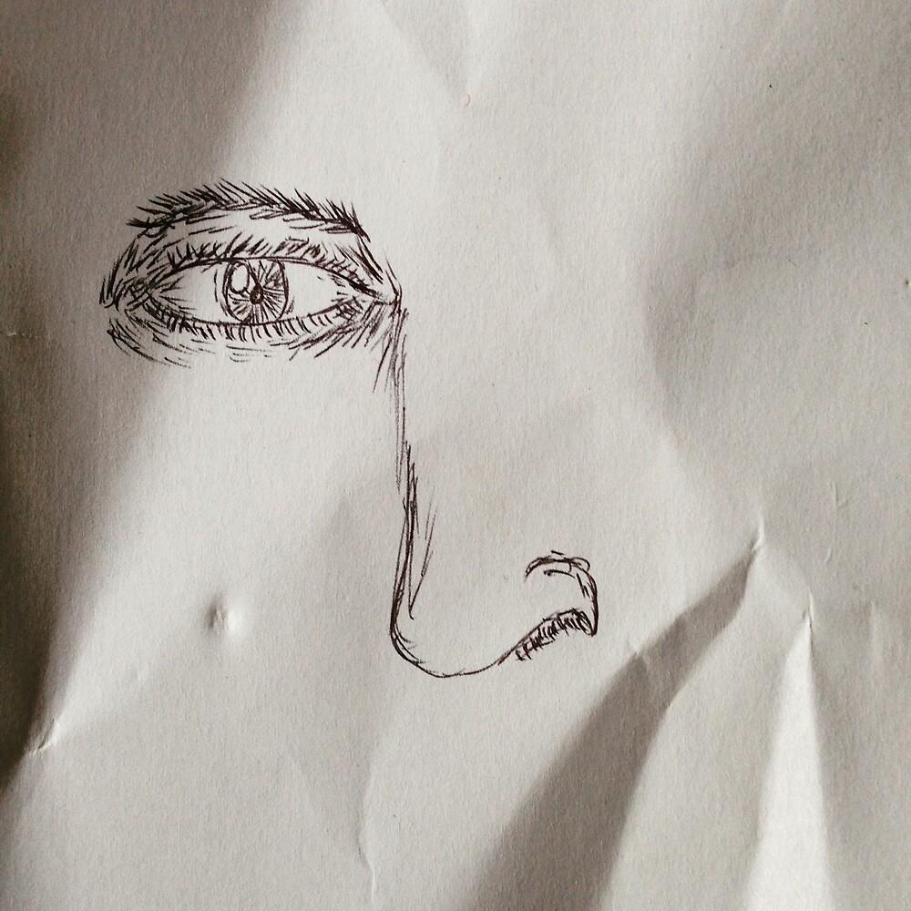aidan is drawing by halfoften