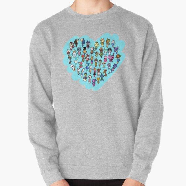 Animal Crossing - Heart of Animals Pullover Sweatshirt