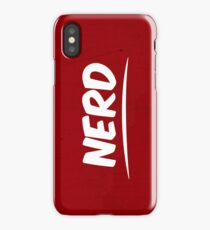 NERD! iPhone Case/Skin