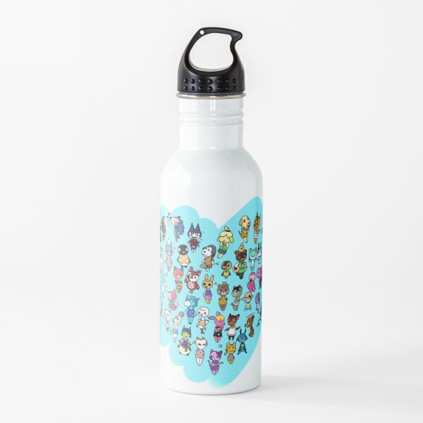 Animal Crossing - Heart of Animals Water Bottle