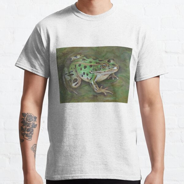 Northern Leopard Frog painting Classic T-Shirt