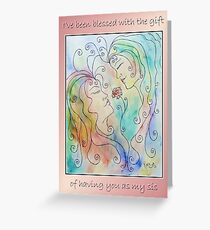 Greeting Card - Sisters Greeting Card