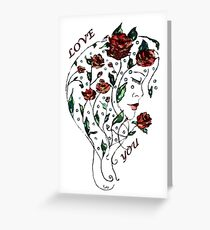 Greeting Card - Love Greeting Card