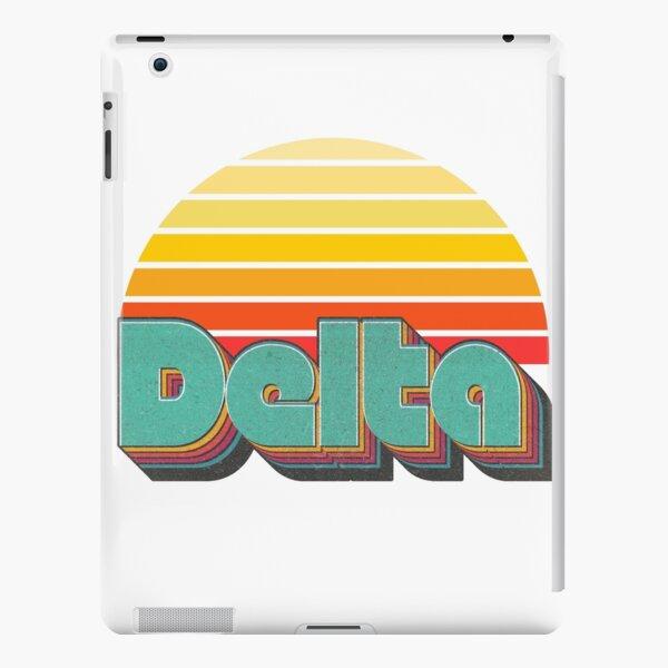 Retro Delta iPad Snap Case