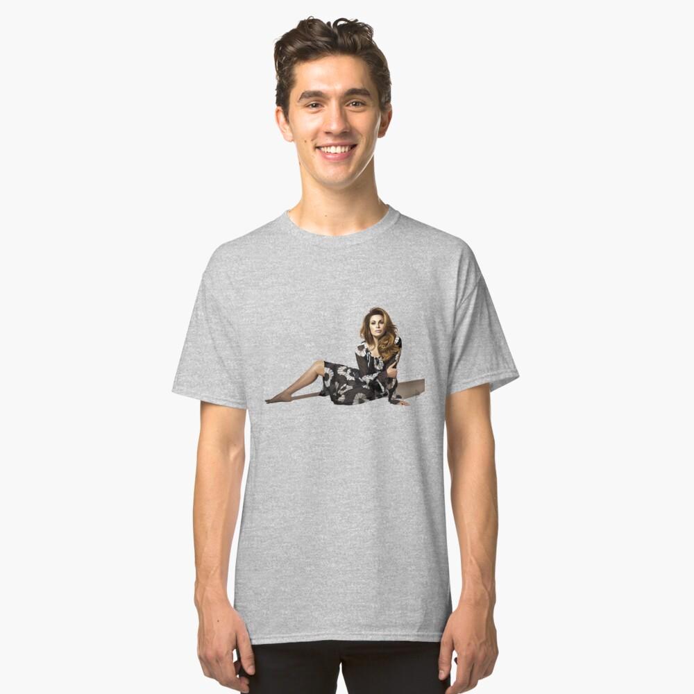 Vanessa Incontrada - Portrait Classic T-Shirt Front