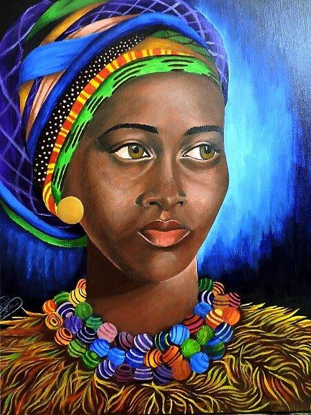 african girl by ArtistShimaa