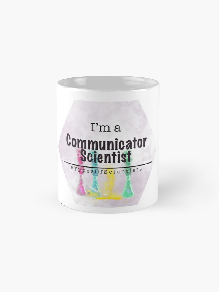 Alternate view of Communicator Scientist Mug