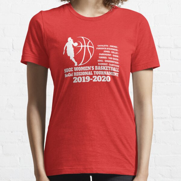 SBCC Women's Basketball - SoCal Regionals Essential T-Shirt