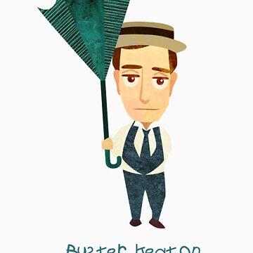 Buster Keaton by MissKoo