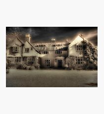 Mysterious Mansion Photographic Print