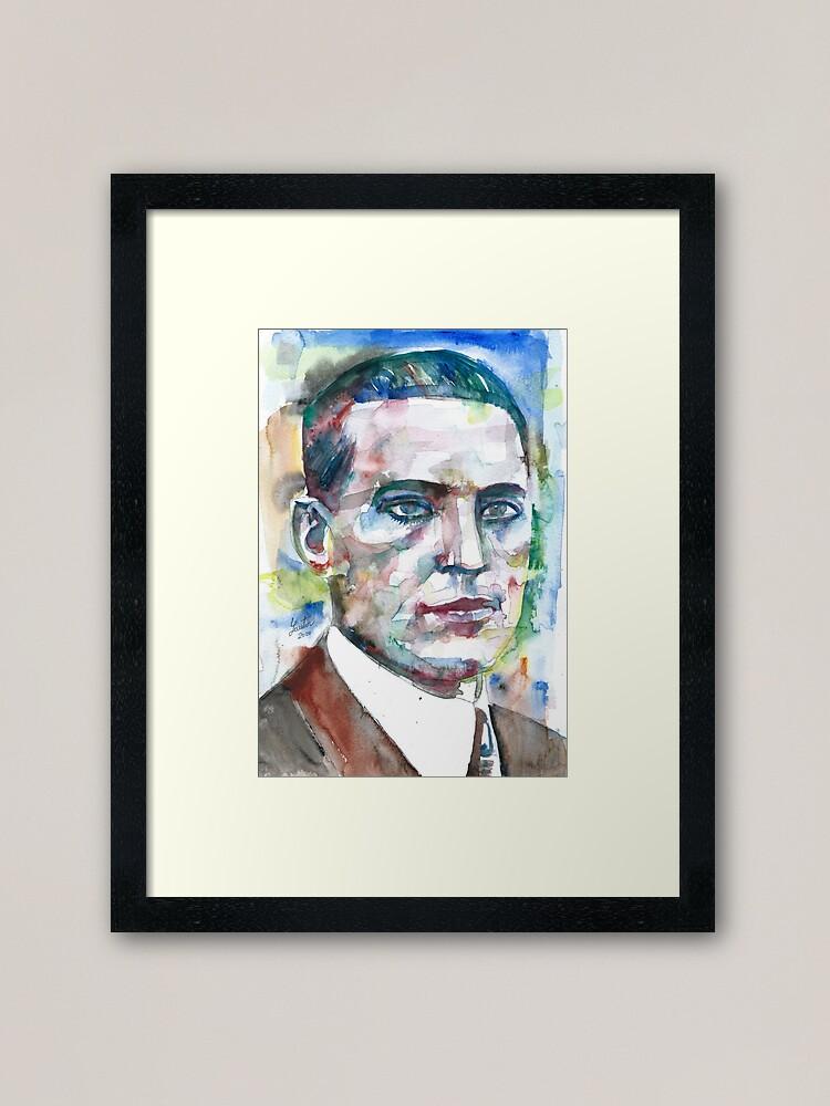 LEV VYGOTSKY watercolor portrait POSTER art print various sizes available
