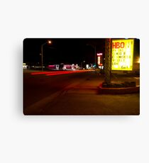 HBO Available Canvas Print