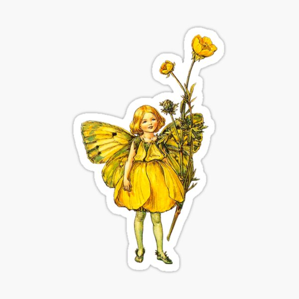 Flower fairies - Flower Fairy books by Cicely Mary Barker Sticker