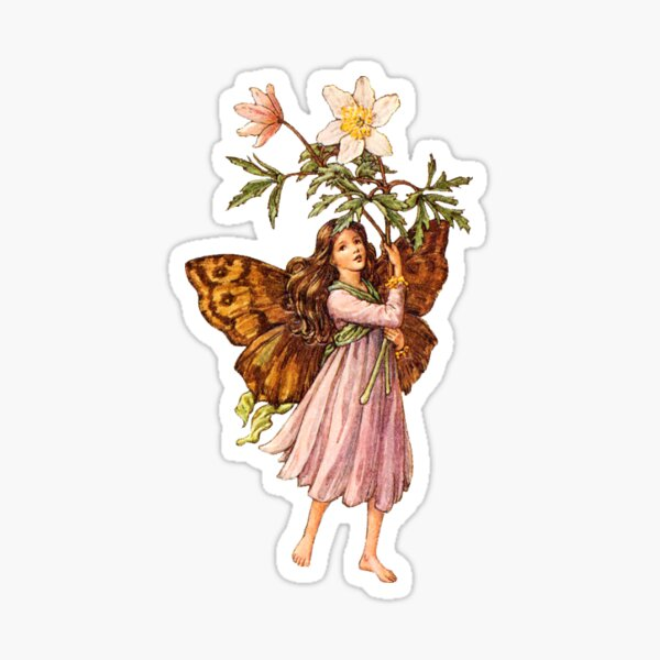 Flower fairies - Flower Fairy books by Cicely Mary Barker Sticker