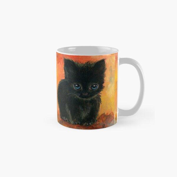 Chaton noir Mug classique