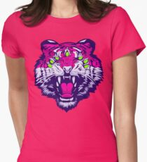 Seven-Eyed Tiger Womens Fitted T-Shirt