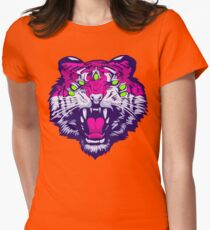 Seven-Eyed Tiger Women's Fitted T-Shirt