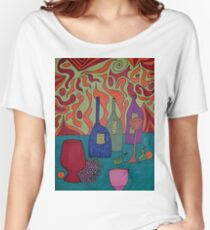 Still Life with Bottles Women's Relaxed Fit T-Shirt