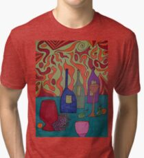 Still Life with Bottles Tri-blend T-Shirt