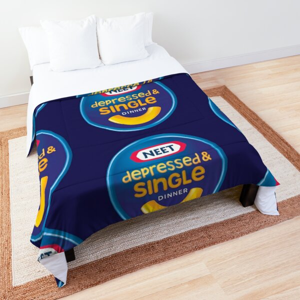 Sad Kraft Mac n Cheese Comforter