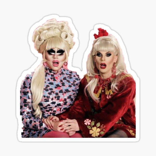 trixie & katya sticker Sticker