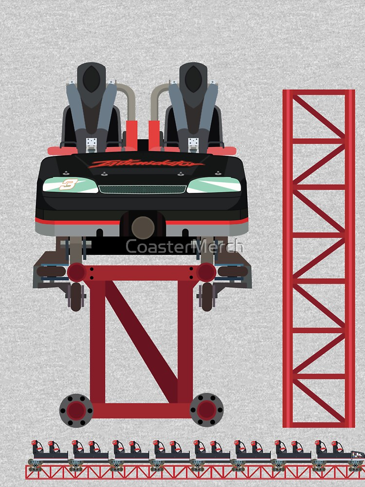 Intimidator Train Design - Kings Dominion Intamin Giga Coaster by CoasterMerch