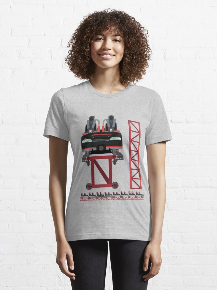 Alternate view of Intimidator Train Design - Kings Dominion Intamin Giga Coaster Essential T-Shirt