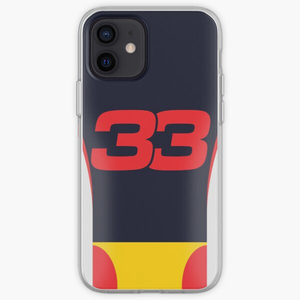 Red Bull F1 2020 - Max Verstappen # 33 Coque souple iPhone