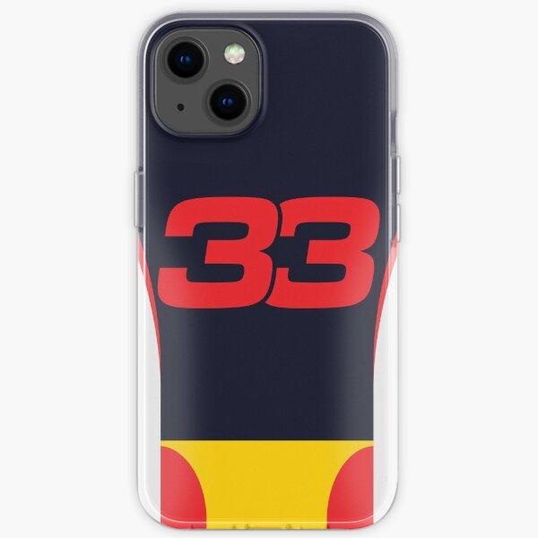 Red Bull F1 2020 - Max Verstappen # 33 iPhone Flexible Hülle