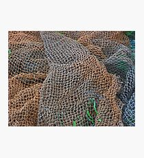 Fishing nets Fotodruck