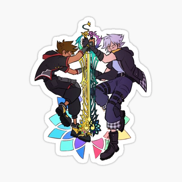 Union Keyblade -- Sora and Riku Sticker