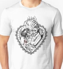 Day of the Dead Ancient Lovers Unisex T-Shirt