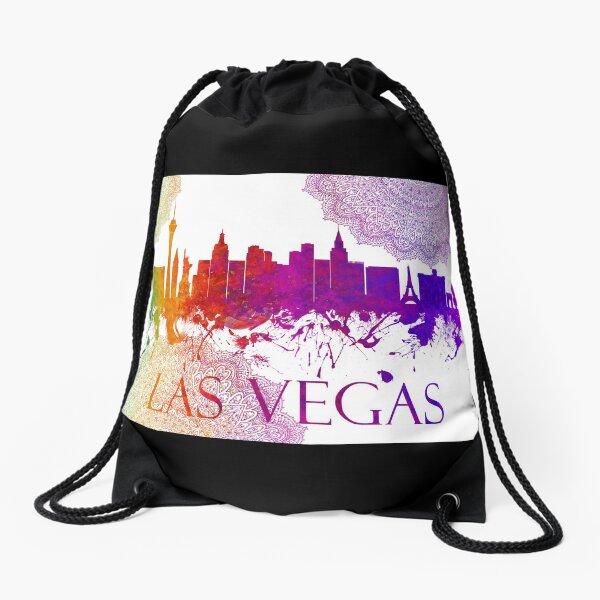 Las Vegas Nevada Skyline - 60 Drawstring Bag