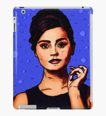 Jenna Coleman a.k.a Clara Oswald iPad Case/Skin