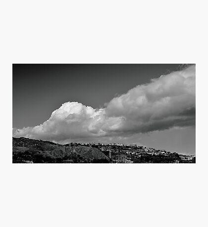 Smoker volcano Photographic Print