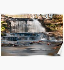 Waterfall - Hocking Hills State Park Poster
