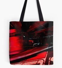 On Red Tote Bag