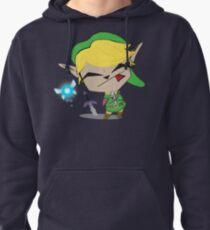 Link-Gir (full size) Pullover Hoodie