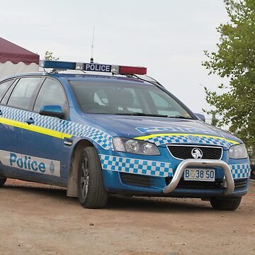 Holden Police Car -  Royal Hobart Show Tasmania 2011 by PaulWJewell