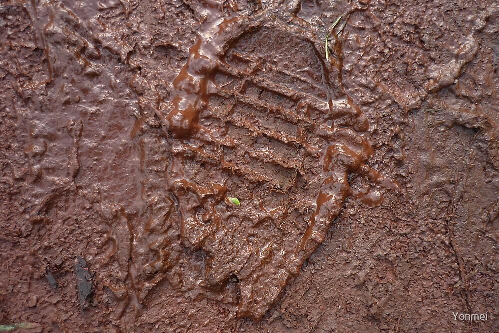 Muddy Footprint by Yonmei